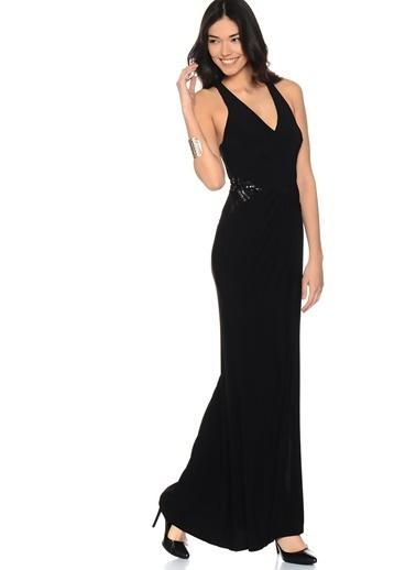 Lipsy Uzun Abiye Elbise Siyah